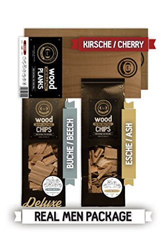 Grillgold Räucher-Set REAL MEN Planks & Wood Smoking Chips