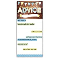 Premium Thick Baby Shower Glossy Advice Cards (Pack of 12) Blue Oh Boy or Girl