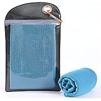 Yeying123 Cold Sense Sporthandtuch Universal Kaltes Handtuch Schnell Trocknend Kühlend Länger (2)