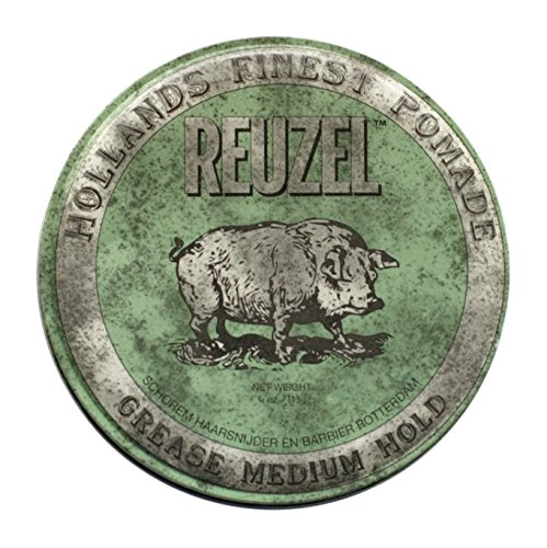 Reuzel Pomade Green Grease Medium Hold - 340 G