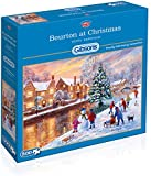 Gibsons Bourton at Christmas Jigsaw Puzzle (500-Pieces)