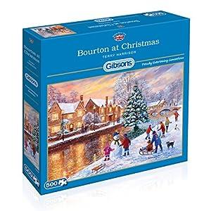 Gibson Bourton en Navidad Jigsaw Puzzle (500 Piezas)