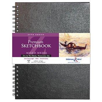 stillman-birn-zeta-sketchbook-9-x-12in-wirebound-270gsm-natural-white-smooth