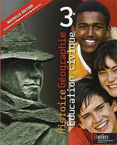 Histoire Géographie - Education civique