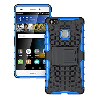 AIBULO® Huawei Ascend P9 Lite Hülle TPU Case Schutzhülle Silikon Crystal Case für Huawei Ascend P9 Lite (für Huawei Ascend P9 Lite, blau)