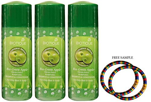 biotique-green-apple-shampoo-190ml-pack-of-3-free-expedited-shipping-via-dhl-express-delivery-in-3-7