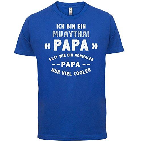 Ich bin ein Muathai Papa - Herren T-Shirt - 13 Farben Royalblau