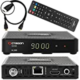 Anadol Octagon SX88 Satelliten Sat Receiver DVB-S/S2 Multistream inkl HDMI Kabel (HDTV, HDMI, USB, Digital Audio, AV-Out, Externer IR Sensor, LAN, H.265, Youtube, Stalker, Internetradio)