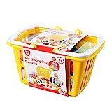 PlayGo 3752 - Mein Einkaufskorb, Lebensmittel Set, 32-teilig
