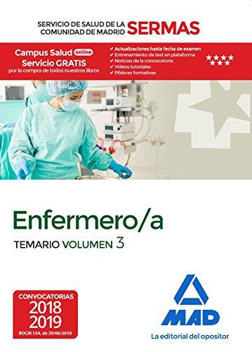 Enfermero/a del Servicio de Salud de la Comunidad de Madrid. Temario Volumen 3