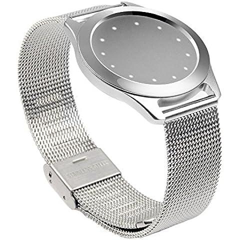 Misfit Shine banda pinhen Misfit Wearables pulsera de banda de malla de aluminio reloj Milanese de Acero Inoxidable Correa De Pulsera Para Misfit