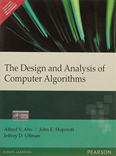 Design & Analysis of Computer Algorithms, 1e