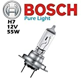 2x Bosch Pure Light H7 12V 55W Glühbirne Birne 1987302071 Auto Lampe