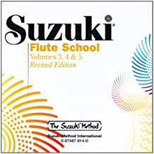 Suzuki Flute School: 3 Volumes in 1