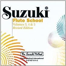 Suzuki Flute School, Vol 3, 4 & 5 (Suzuki Method Core Materials)