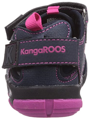 KangaROOS KangaSpeed 2068, Jungen Sneakers Blau (dk navy/magenta 464)