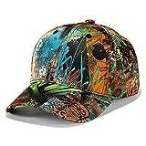 Herren & Damen Baseball Cap, Basecap Snapback Caps Kappe Mütze - Sportlich, Straße Hiphop, 54~60cm