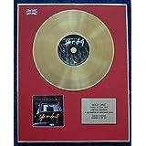 Century Presentations The Notorious B.I.G - Disco LP Recubierto de Oro de 24 Quilates