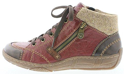 Remonte Damenschuhe D3886 Damen Stiefeletten, Stiefel, Boots antik/wine/chestnut/wood / 35