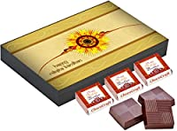 ChocoCraft Unique Raksha Bandhan Gifts for Brothers 18 Chocolate Box