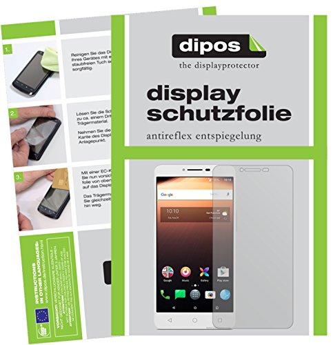 dipos I 6X Schutzfolie matt passend für Alcatel A3 XL Folie Bildschirmschutzfolie