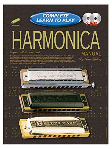 Progressive Complete Learn To Play Harmonica Manual - Partitions, CD