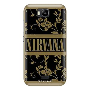Mozine Nirvana printed mobile back cover for Huawei honor bee