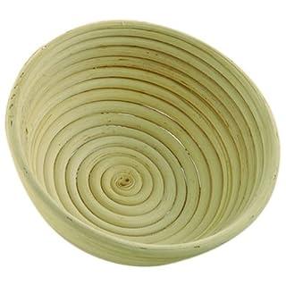 Gärkorb Gärkörbe Brotform Peddigrohr 1,0 kg rund