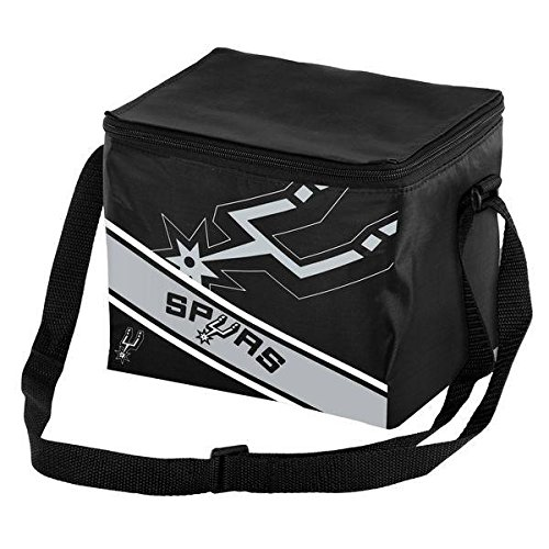 Forever Collectibles 6 Big Logo Stripe 6 Pack Kühler, San Antonio Spurs, One Size - San Antonio Spurs-bean-bag