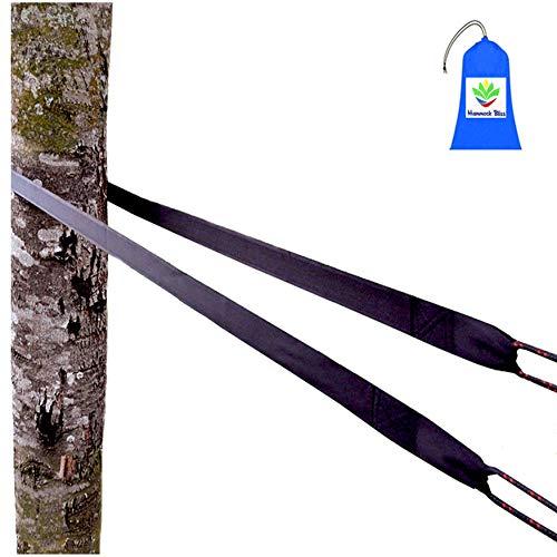 Hammock Bliss XL Extra Long Tree Straps - einfaches Aufhängen von Hängematten - belastbar, haltbar, widerstandsfähig - First Safety Bag
