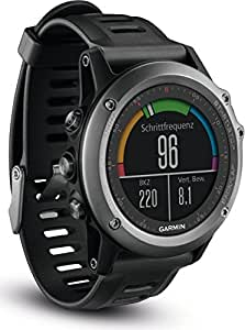 Garmin 3 010-01338-11 Fenix Montre GPS Multisport - Gris