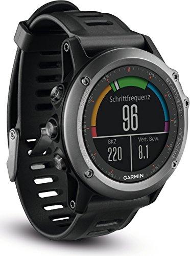 fenix 3 performer bundle Garmin fenix 3 GPS-Multisportuhr, Smartwatch-, Navigations- und Sportfunktionen, GPS/GLONASS, 1,2 Zoll (3 cm) Farbdisplay, 010-01338-11