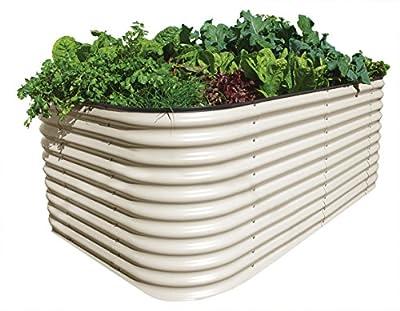 hadra BEETVEGGIE Gemüse Hochbeet, 2200 x 1300 x 820 mm von hadra - Du und dein Garten