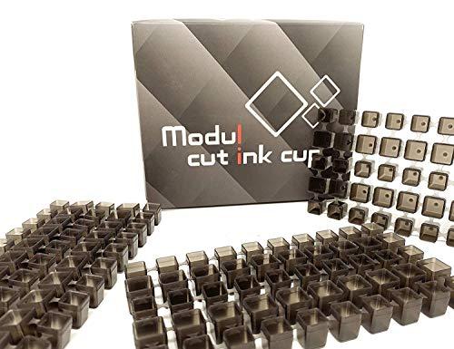 AVA Modul Cut INK Trays - modulare Farbkappen - 50 Stück - INKgrafix - IG51509 -