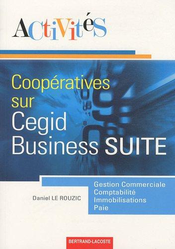 Activités coopératives sur le progiciel de gestion intégré Cegid Business Suite