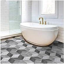 Pavimenti adesivo - Incollare su piastrelle bagno ...