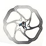 Generic HS1 Disque de frein pour vélo tout terrain avec 6boulons compatible avec BB5/BB7Argent 160 mm...