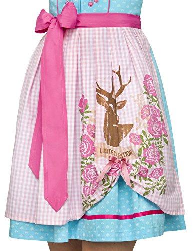 Stockerpoint Dirndl Ronja, Vestito Tradizionale Austriaco Donna Turchese (Türkis)