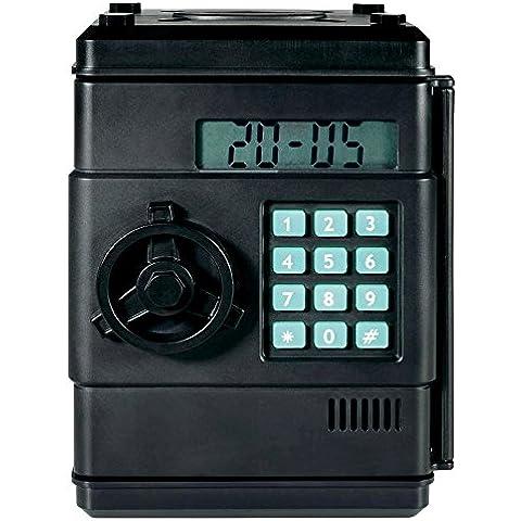 Hucha digitale combinación 6Números–contar automático–Reloj