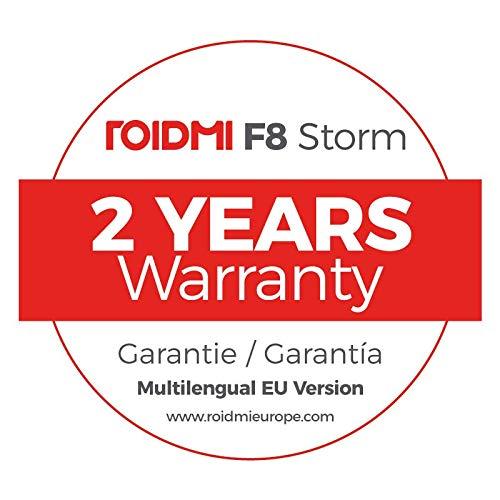 Roidmi F8 Storm - Aspiradora sin cable del ecosistema Xiaomi - Versión EU en Español - 415W - Color Blanco