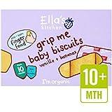 De Los Plátanos De Cocina Y Vainilla Del Bebé Del Ella Galletas De 12 X 9 G - Paquete de 6