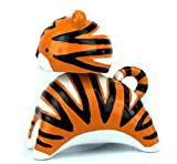 Spardose Sparbüchse Tiger Katze mit Wackelkopf