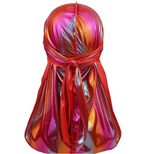Muslimische Kopftuch Bandana Turban Chemo Krebs Cap Laser Langer Schwanz Helmunterlage Piratenhut Kopfkappe Hip Hop Umhang Hut ()