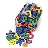 Chenille Kraft Lettres de l'Alphabet magnétiques aux Couleurs Assorties, 4357.105/Pack (CKC4357).
