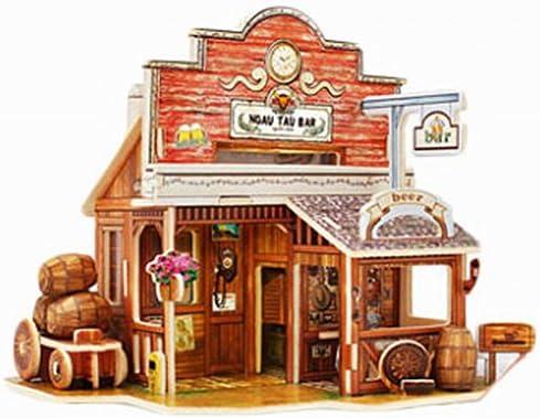 Blancho Stéréoscopique Puzzles Jouet éducatif 3D des Puzzles 3D, Beer Beer Beer Bar Américain | Dans Plusieurs Styles  ce1003