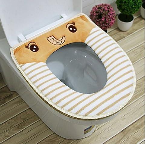 Karikatur-Toiletten-Kissen Vier Jahreszeit-WC-Sitz-Toiletten-Artikel, A