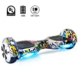BEBK Hoverboard 6.5' Smart Self Balance Scooter Autobilanciato...