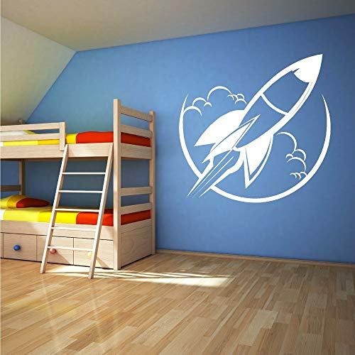 Kids Room Decor Vinilo removible Cohete de juguete Nave...