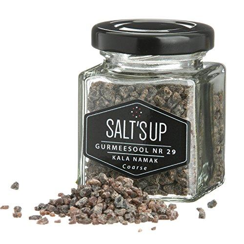 Sal de hasta Kala Namak gruesa - 80 g.