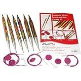 KnitPro Symfonie Interchangeable Needle Chunky Set, Multi-Color